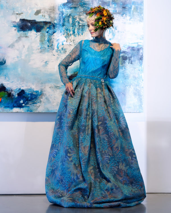 denver dress designer custom gala gown