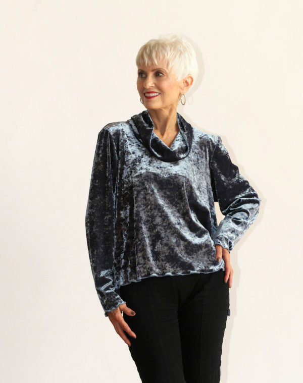fall women's clothing velvet shirts